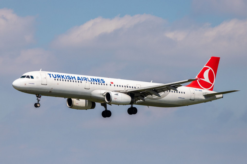 Самолет Airbus A321 авиакомпании Turkish Airlines